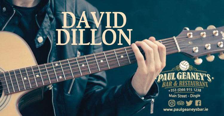 David Dillon Live Music at Paul Geaney's Bar & Restaurant Dingle Wild Atlantic Way