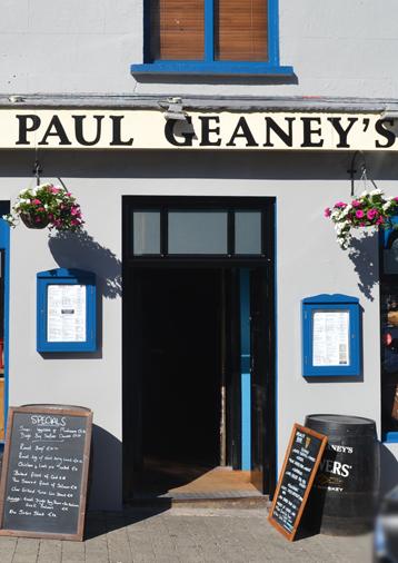 Front Door of Paul Geaney's Bar & Restaurant Dingle Wild Atlantic Way Thumbnail