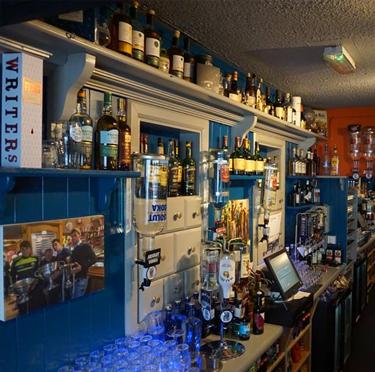 Back Bar Drinks of Paul Geaney's Bar & Restaurant Dingle Wild Atlantic Way Thumbnail