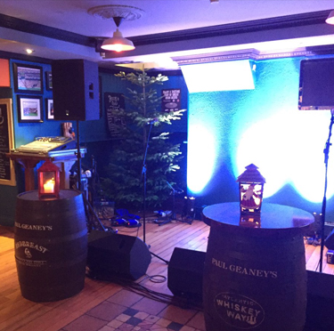 LIVE music stage at Paul Geaney's Bar & Restaurant Dingle Wild Atlantic Way Thumbnail