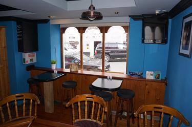 Inside the Front Window of Paul Geaney's Bar & Restaurant Dingle Wild Atlantic Way