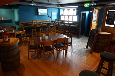 Front Seating Area Back of Paul Geaney's Bar & Restaurant Dingle Wild Atlantic Way Thumbnail
