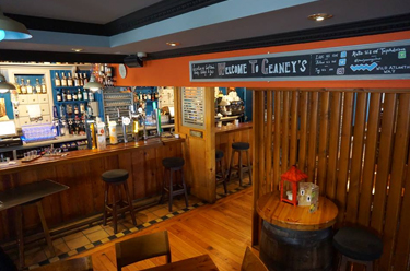 Front Bar of Paul Geaney's Bar & Restaurant Dingle Wild Atlantic Way Thumbnail