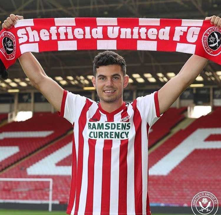 John Egan Sheffield United.