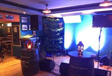 Other Voices Stage at Paul Geaney's Bar & Restaurant Dingle Wild Atlantic Way