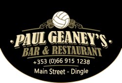 Paul Geaney's Bar Restaurant Dingle Logo