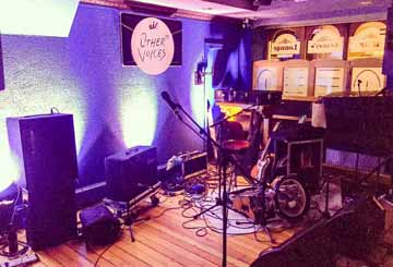 Other Voices Live Music Stage at Paul Geaney's Bar & Restaurant Dingle Wild Atlantic Way