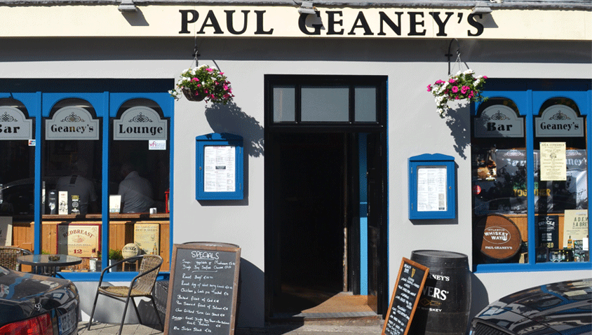 Paul Geaney's Bar & Restaurant Street Front Dingle