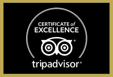 TripAdvisor Certificate of Excellence for Paul Geaney's Bar & Restaurant Dingle Wild Atlantic Way